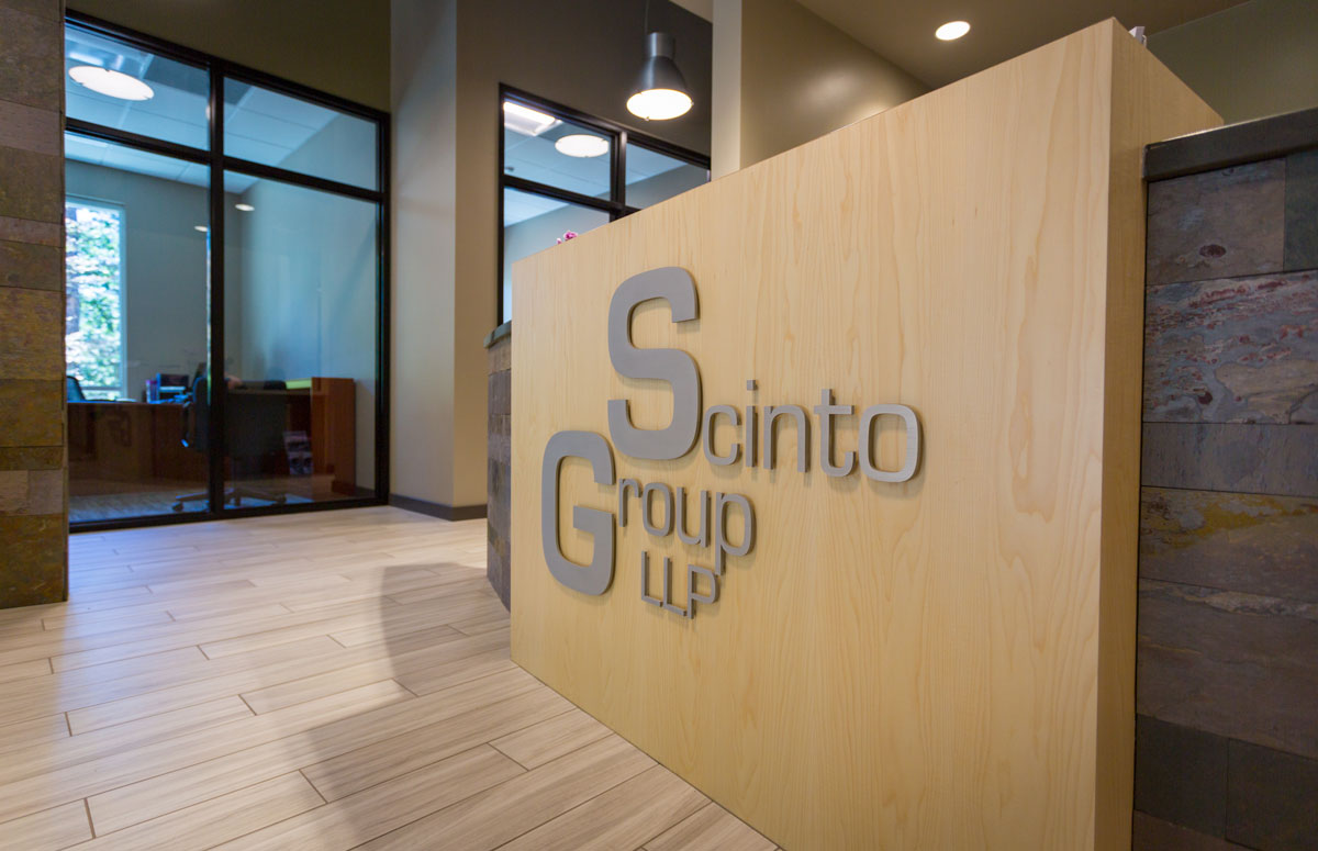 Scinto Office Reception Desk